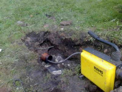 Mechaniczne czyszczenie kanalizacji - kliknij, aby powiększyć