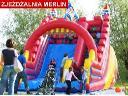 Impreza dla dzieci - zjeżdżalnia dmuchana, trampoliny, wata, popcorn, Łódż, łódzkie