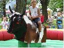 Symulator rodeo, ujeżdżanie byka, kowboj, lubuskie