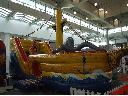 Statek piracki ze zjeżdżalnią dmuchany, pomorskie