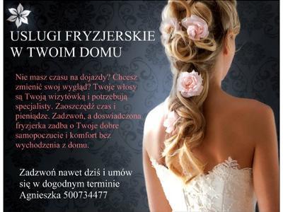 Usługi Fryzjerskie Z Dojazdem Do Klienta Tanio Poznań Czerwonak