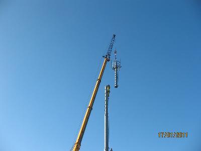 Montaż konstrukcji stalowych, prace na wysokości