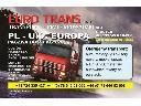 Transport - Uslugi kurierskie Polska - Anglia - Polska