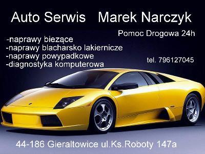 Auto Serwis, Pomoc Drogowa