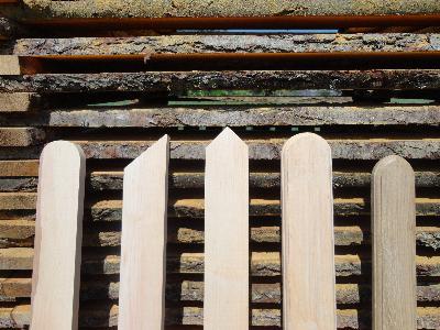 Sztachety drewniane podlaskie