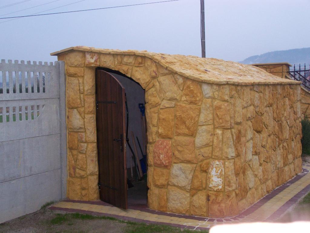 Elewacja Z Kamienia Ogrodzenia Grille Altany Galeria