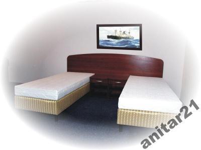 łóżko 90x200 łóżka Nowe Meble Hotelowe Producent Nr 2985 Produkt Dostępny Na Obszarze Cała Polska