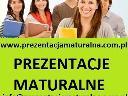 Gotowe prezentacje maturalne, cała Polska, śląskie
