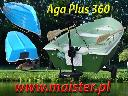 Łódka wędkarska Aga Plus 360 Full Opcja 4 osobowa Cena Producenta