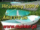 Łódka Wędkarska Ania 310 3 osobowa Ceny Producenta, Bobry 16