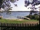 Plaża i jezioro powidzkie z dostępem do wody