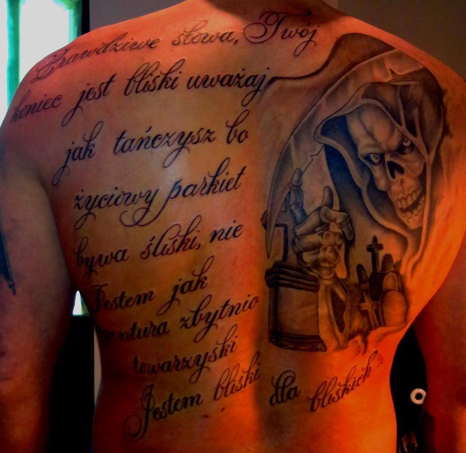 Studio Tatuażu La Muerte Sosnowiec Tatuaże Covery