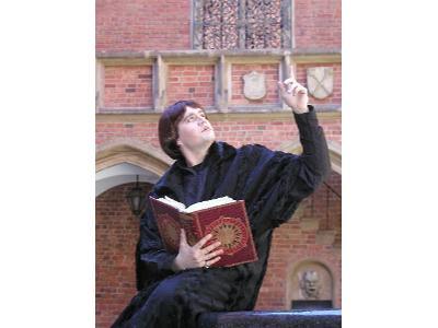 Mikołaj Kopernik w Collegium Maius w Krakowie - kliknij, aby powiększyć