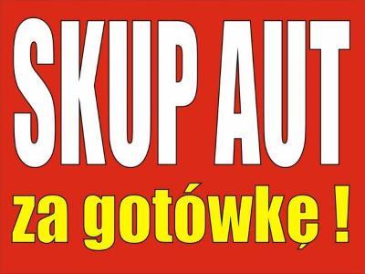 Skup samochodów Auto skup Skup aut Całe uszkodzone osobowe dostawcze