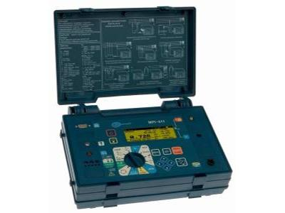 Wielofunkcyjny miernik do pomiarów elektrycznych ochronnych - nasze narzędzie pracy - kliknij, aby powiększyć