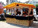 Drewniane Domki handlowe  w wersji otwartej - Poznań 2