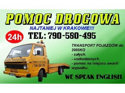 Pomoc drogowa w krakowie - kliknij, aby powiększyć