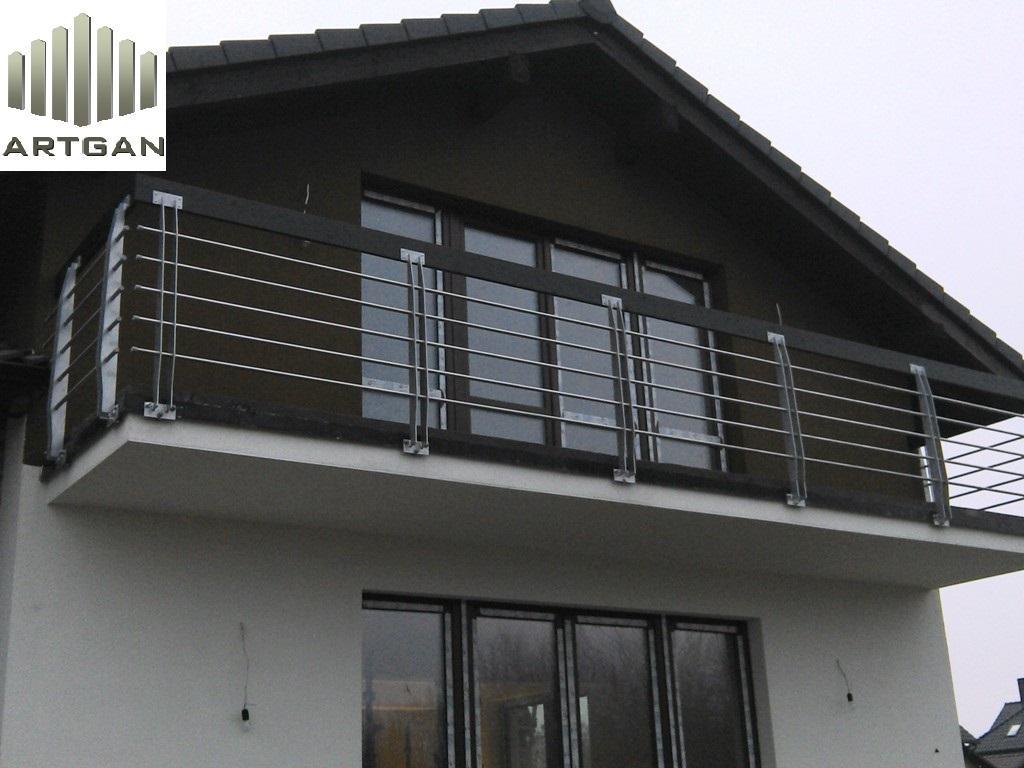 Balustrady balkonowe pomorskie
