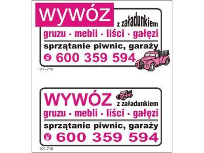 WYWÓZ gruzu  w workach big bag , mebli SPRZĄTANIE piwnic Warszawa, Warszawa (mazowieckie)