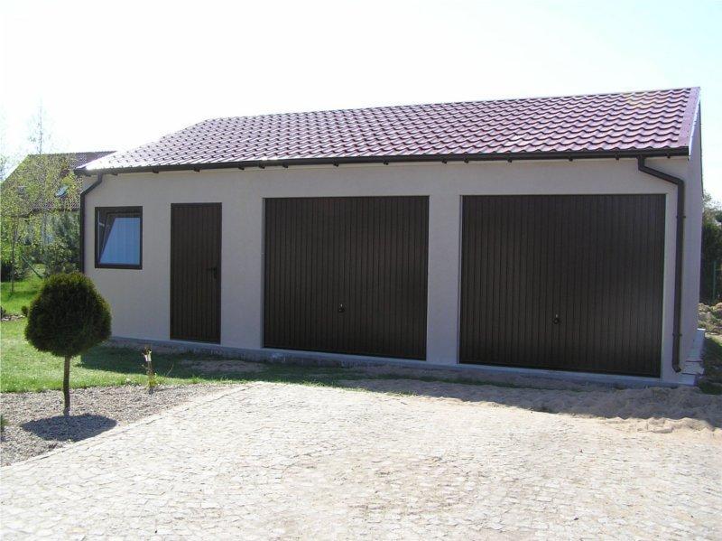 Garaże Tynkowane Garaże Ocieplane Garaże Blaszane Producent