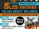 TENBUS***komfortowe przejazdy do Niemiec i Holandii***DVD,Wi-Fi, ca�a Polska