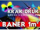 Banery reklamowe, roll-up, szylky, plakaty, naklejki, koszulki Kraków