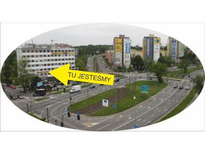 Lokalizacja na ul. Dąbrowskiego - kliknij, aby powiększyć