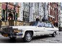 Zabytkowa biała limuzyna Cadillac do ślubu, na wesele, czy zaręczyny, Gdańsk (pomorskie)