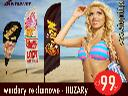 Windery reklamowe  Flagi HUZAR  beach flag  maszty plażowe