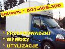 transport, przeprowadzki, przewozy, utylizacja, wywóz, transport , Kraków, małopolskie