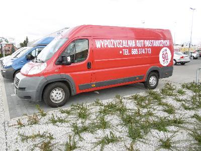 wypożyczalnia, wynajem, samochodów, dostawczych, 125 zł, netto doba, poznań (wielkopolskie)