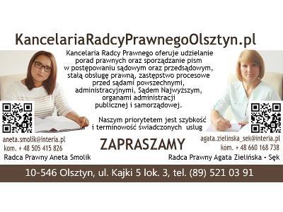 Kancelaria Radców Prawnych w Olsztynie - kliknij, aby powiększyć
