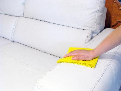 Czyszczenie tapicerki skórzanej - kliknij, aby powiększyć