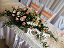 Dekoracja sali, dekoracja ślubu wesele,bukiety ślubne, florystyka, Lubień (małopolskie)