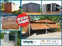 Garaże blaszane bramy garażowe kojce dla psów różne wymiary, Krasne-Lasocice (małopolskie)