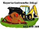 Usługi koparko ładowarką Warszawa, warszawa (mazowieckie)