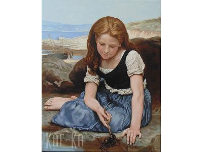 Kopie obrazów olejnych, reprodukcje, płytki ręcznie malowane