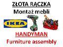 Montaż mebli, złota Rączka, Handyman, Furniture Assembly, Warszawa, mazowieckie