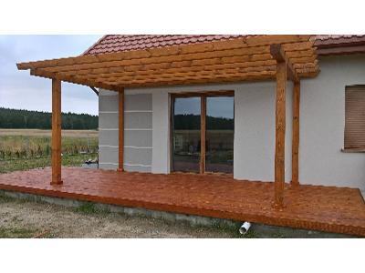 Usługi stolarskie- altany, wiaty, tarasy, domki narzedziowe