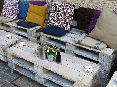 DIY- meble ogrodowe z europalet