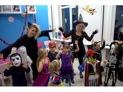 Halloween w Baby English Center - kliknij, aby powiększyć