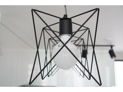 Druciane lampy- zrób to sam
