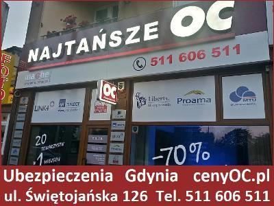 Ubezpieczenie OC Gdynia Multiagencja +27 Firm +zniżki 70% / cenyOC.pl