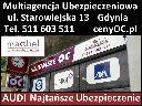 OC Audi Gdynia - Tanie Ubezpieczenie OC+AC+NNW - Multiagencja 27 Firm, Gdynia, pomorskie