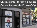 Multiagencja Gdynia + 27 Firm / Najtańsze Ubezpieczenia Samochodowe, Gdynia, Rumia, Sopot, Reda, pomorskie