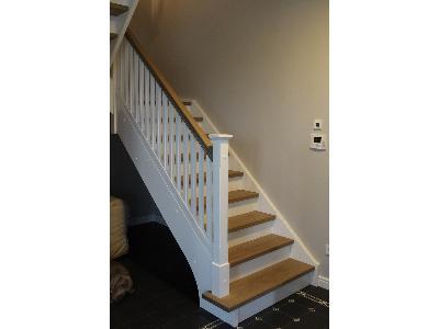 schody trepy stopnie podstopnie dąb drewno tarcica