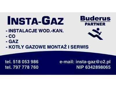 INSTA- GAZ - kliknij, aby powiększyć