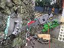Wiercenie w betonie metodą diamentową i podbicia fundamentów , Schonhausen (mazowieckie)