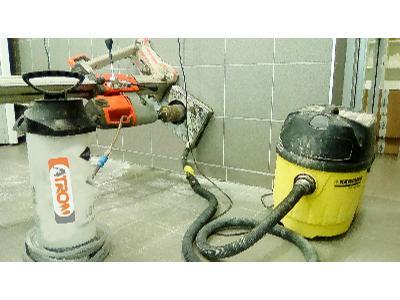 Wiercenie w betonie - kliknij, aby powiększyć