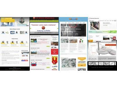 Strony internetowe - kliknij, aby powiększyć
